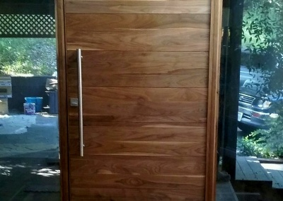 Entry Door Refinishing, Alamo