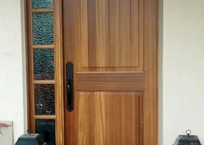 Entry Door Refinishing, Martinez