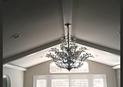 Box-beam Ceiling Repaint, Danville