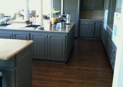 Remodel Kitchen Cabinets Repaint, Pleasanton