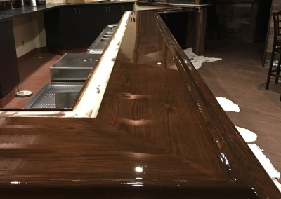Restaurant Bar Counter - Poured Epoxy, San Ramon