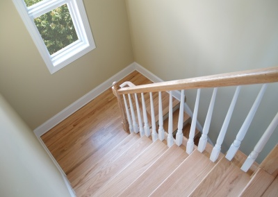 Stained and Lacquered Hand Rail, Pleasanton
